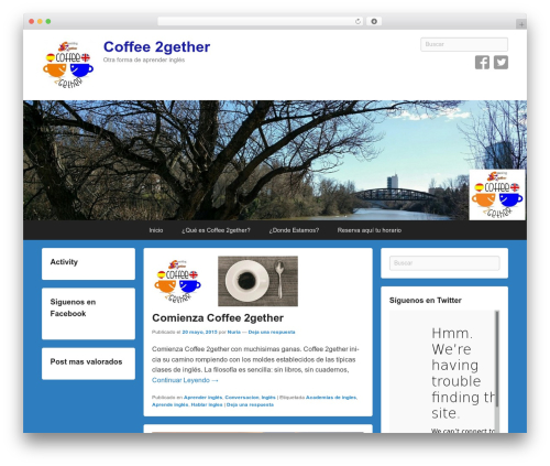 Theme WordPress Catch Flames - coffee2gether.es