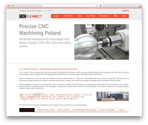 Theme WordPress Nevon Theme - cnc-connect.pl