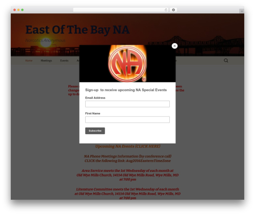 Free WordPress Ecwid Ecommerce Shopping Cart plugin - eastofthebayna.org