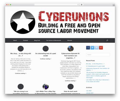 Vantage template WordPress free - cyberunions.org