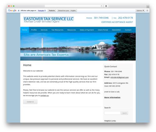 WordPress theme Customized - eastovertaxservicellc.com