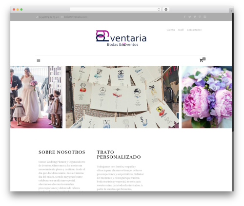 Betheme premium WordPress theme - eventaria.com