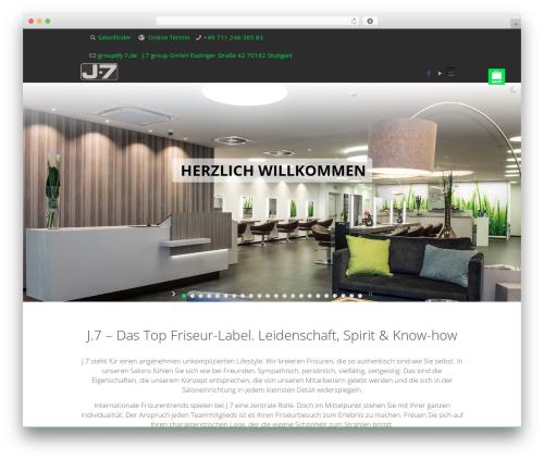 Betheme WordPress theme design - j-7.de
