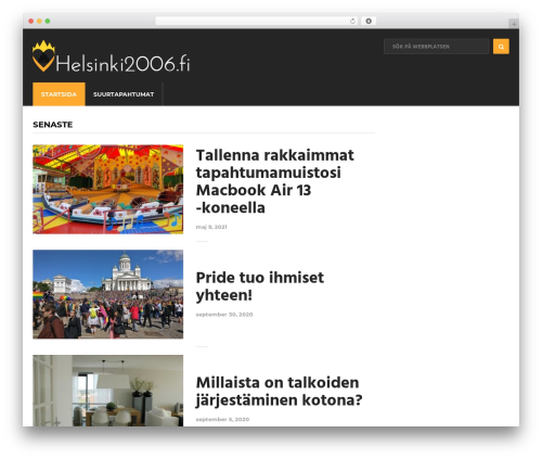 Cool by MyThemeShop theme WordPress - helsinki2006.fi