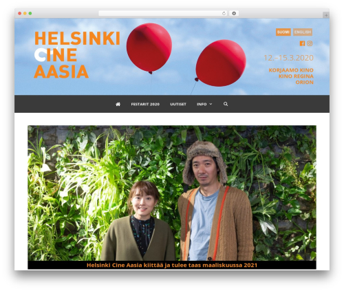 GeneratePress template WordPress free - helsinkicineaasia.fi