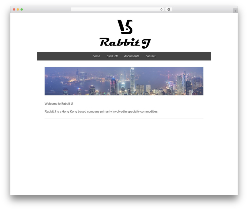 Gridiculous theme WordPress - rabbitj.com
