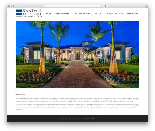 Specular company WordPress theme - randall-mitchell.com