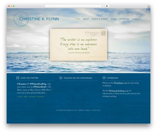 Striking MultiFlex & Ecommerce Responsive WordPress Theme WordPress ecommerce template - christinekoubek.com