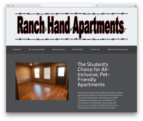 Theme WordPress ThemeAlley.Business - ranchhandapartments.com