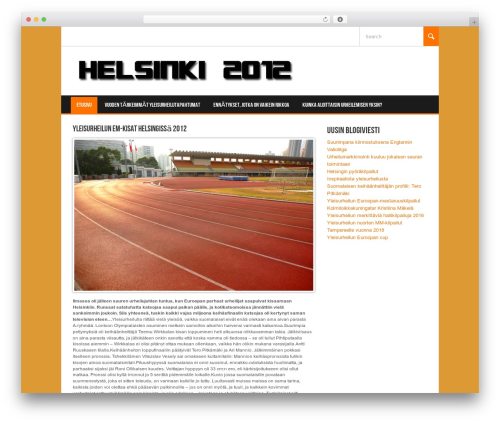 WordPress theme Koenda - helsinki2012.fi