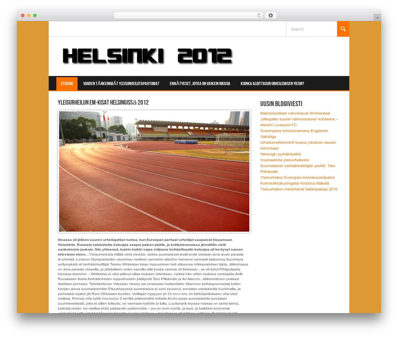 WordPress theme Koenda - helsinki2012.fi