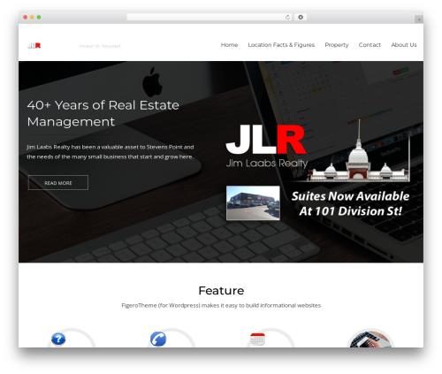 Figero best WordPress theme - jimlaabsrealty.com