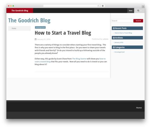SmartAdapt template WordPress free - jaygoodrich-blog.com