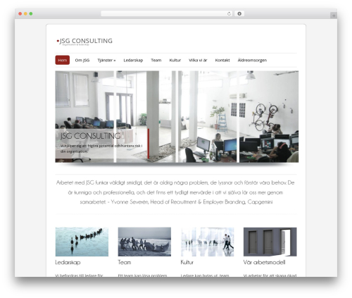 ColorWay best free WordPress theme - jsgconsulting.se