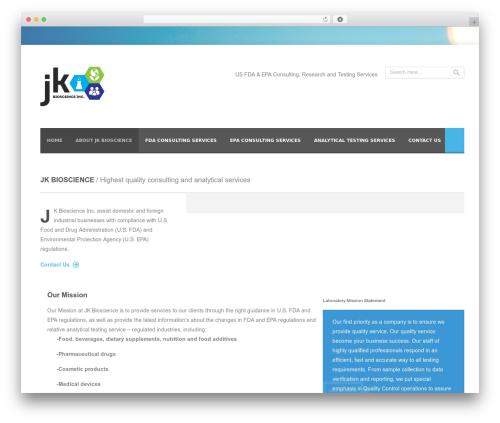 Nyx template WordPress - jkbioscience.com