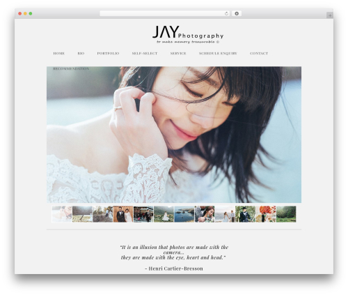 Free WordPress Royal PrettyPhoto plugin - jayhsu-photography.com