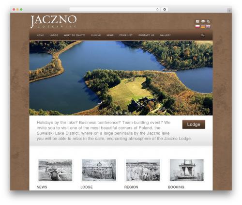 WordPress template Awake - jaczno.com