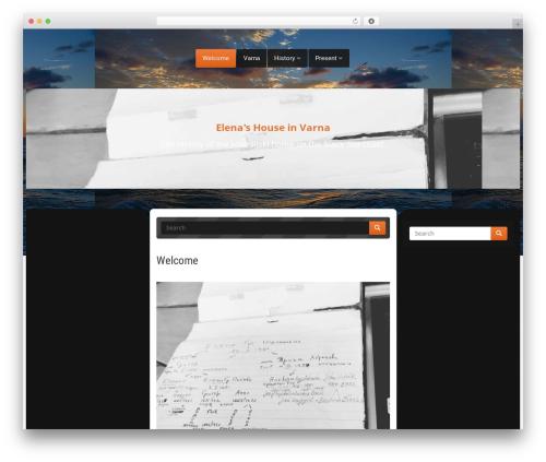 WordPress theme Nabia - jusenlijska.com