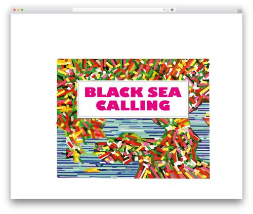 BSC WordPress website template - blackseacalling.eu