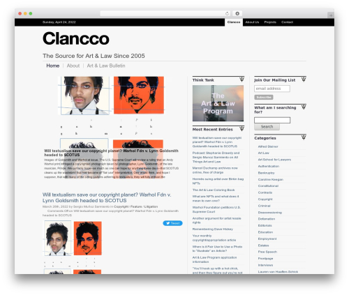 WordPress anarchy_media plugin - clancco.com