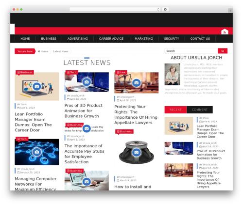 Epira Lite best WordPress template - jgen.ws