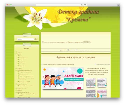 Suffu-scion WordPress template - cdgkremena.com