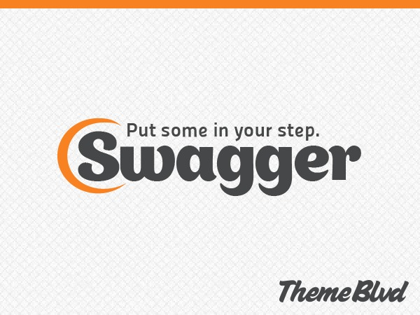 Swagger personal WordPress theme
