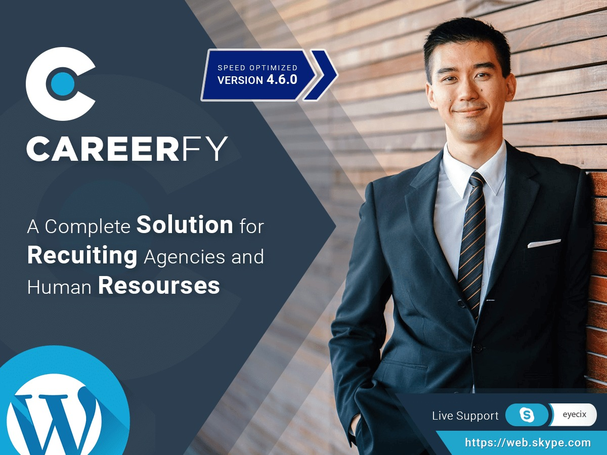 Template WordPress Careerfy