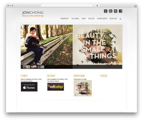 Theme WordPress Prestige Ultimate Wordpress Theme - jonchong.com