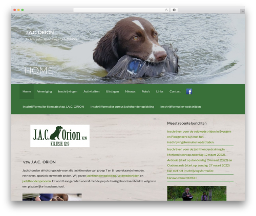 Activation theme WordPress free - jacorion.be
