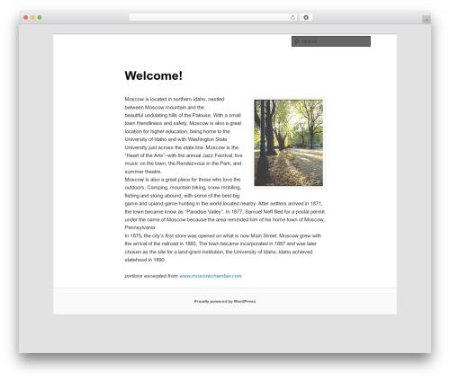 Best WordPress theme Twenty Eleven - communities.fsr.com