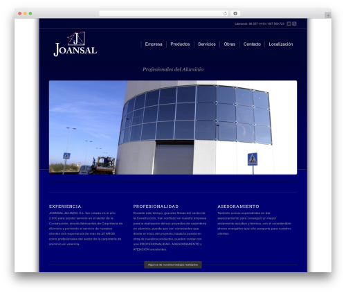 Theme WordPress Corona - joansal.com