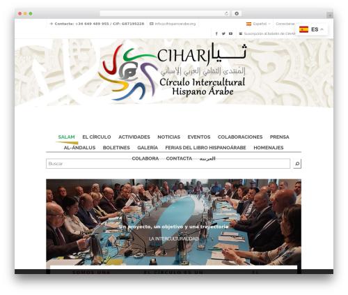 Free WordPress Polylang plugin - cihispanoarabe.org