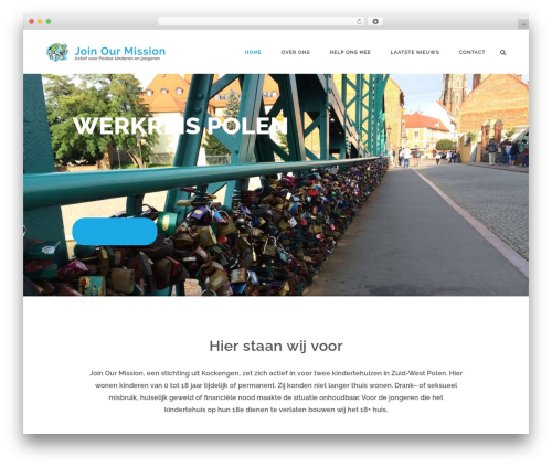 Aperio WordPress theme - joinourmission.nl