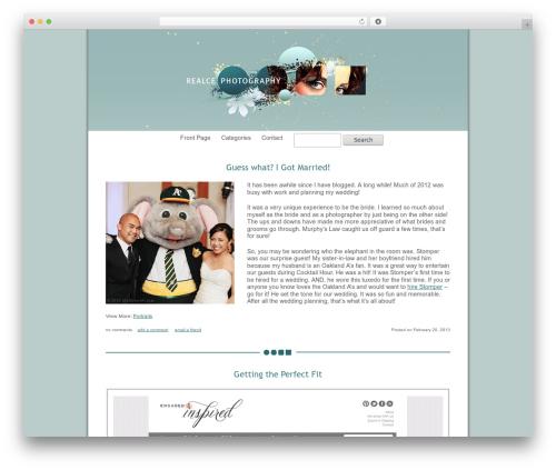 Best WordPress theme ProPhoto2 - journal.realcephoto.com