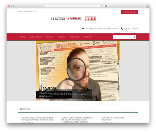 Blank Theme theme WordPress - bancariosrondonopolis.com.br