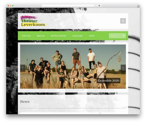 K-BOOM WordPress theme - jungestheater.net