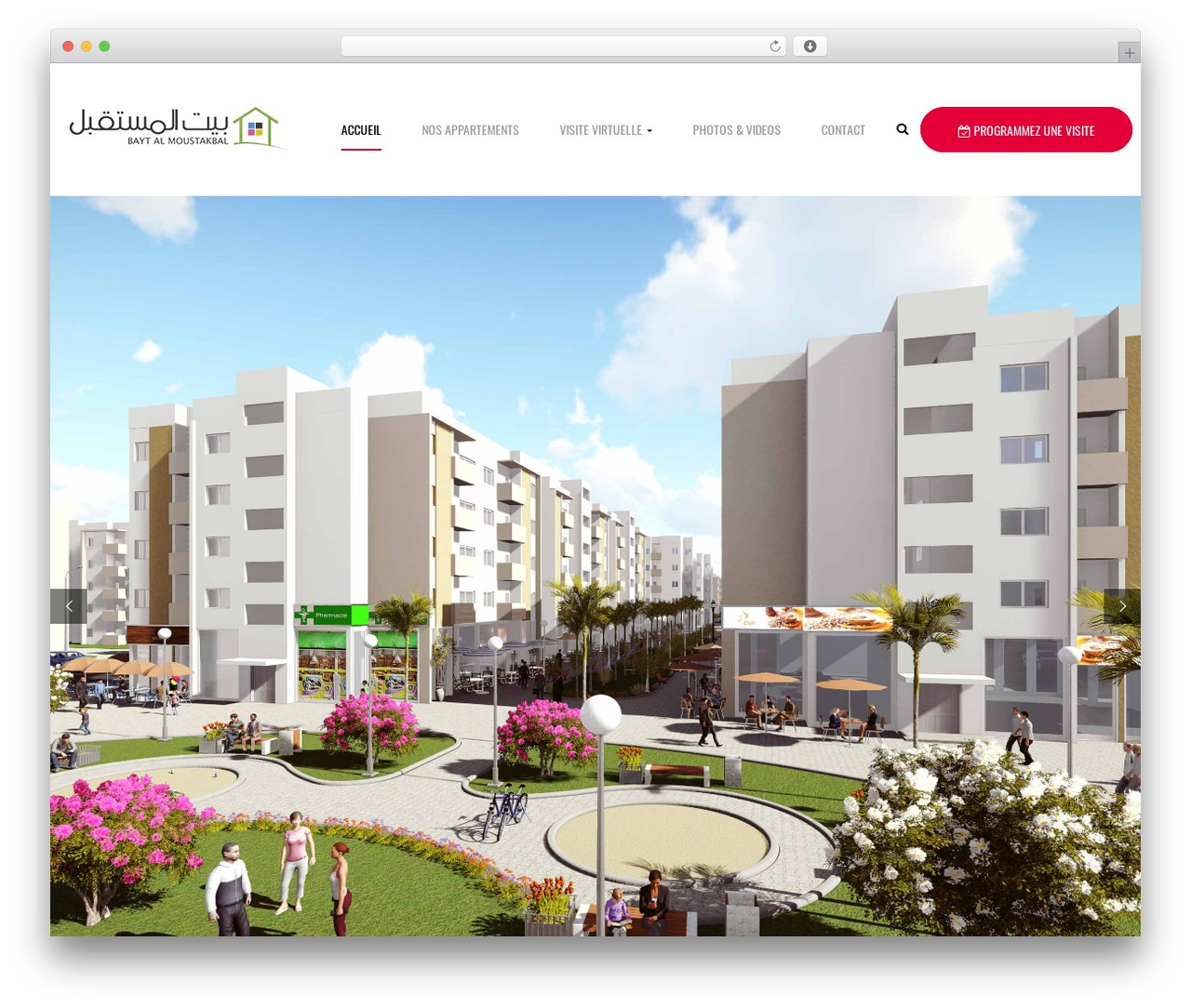 opalhomes WP template - baytalmoustakbal.com