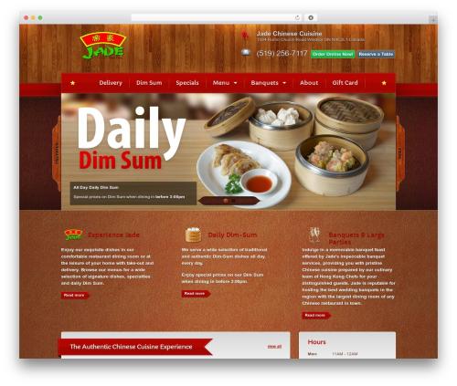 Theme WordPress Bordeaux Premium Theme - jadechinesecuisine.com