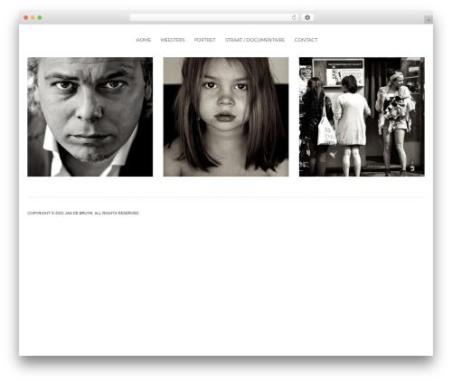 Theme WordPress Tripod - jandebruyn.nl