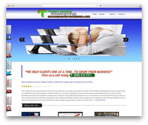 WordPress viral-social-slider plugin - janesvilleseo.net