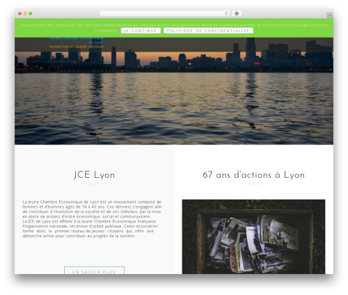 Best WordPress theme Astrid - jce-lyon.org