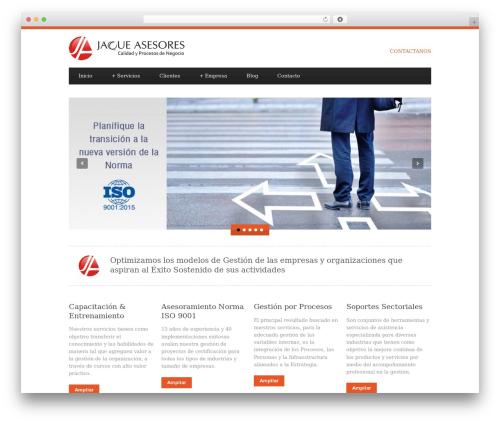 Blue Diamond theme WordPress - jaqueasesores.com.ar