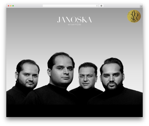 Free WordPress YouTube Channel plugin - janoskaensemble.com