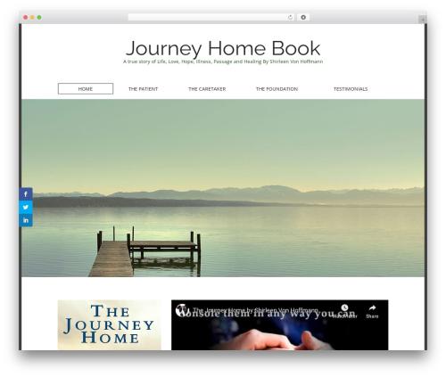 Matheson free WP theme - journeyhomebook.com