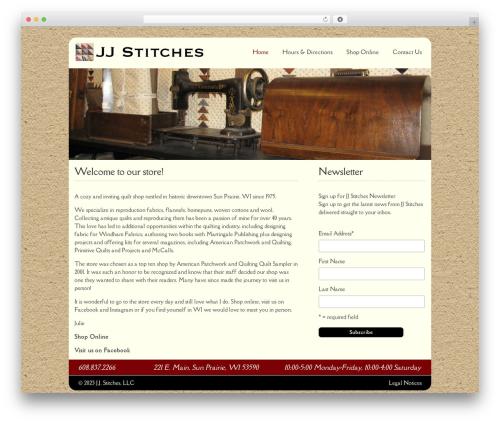 Free WordPress Ecwid Ecommerce Shopping Cart plugin - jjstitches.com
