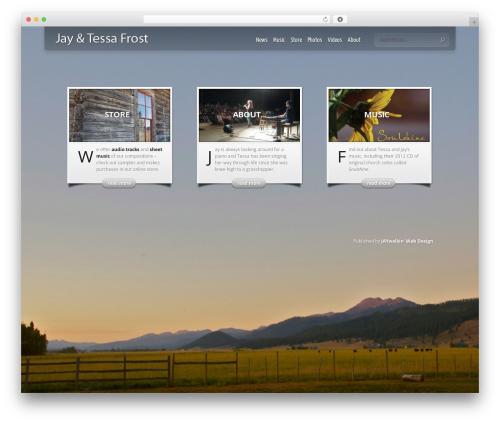 Theme WordPress InStyle - jayandtessafrost.com