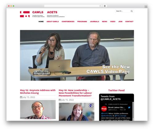 Theme WordPress Striking MultiFlex & Ecommerce Responsive WordPress Theme - cawls.ca
