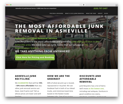 WP template Suite - junkrecyclers.net