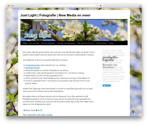 Free WordPress Flickr Gallery plugin - just-light.nl